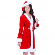 Christmas Costume Mrs Santa Claus dress X-M04